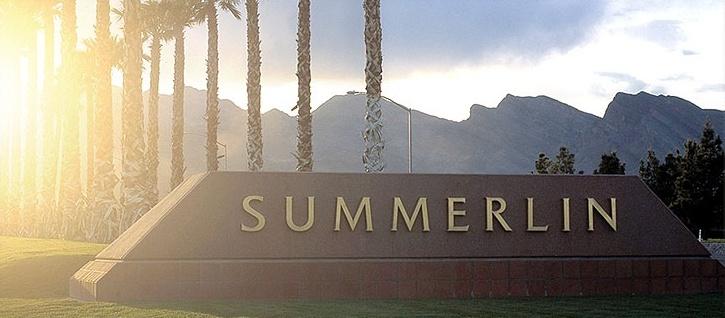 Summerlin Sign in Las Vegas, Nevada
